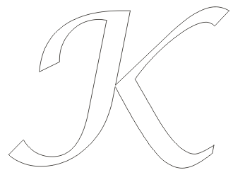 K Alphabet Letter ... pages alphabet colouring pages colouring alphabet letter k