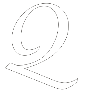 Alphabet coloring pages small letter Q