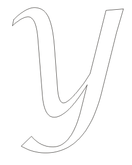 Large Letter Co... Y Coloring Pages