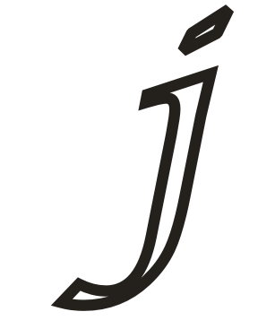 Alphabet coloring pages small letter j