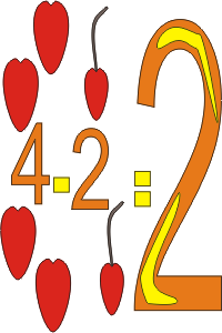 math coloring page 4-2